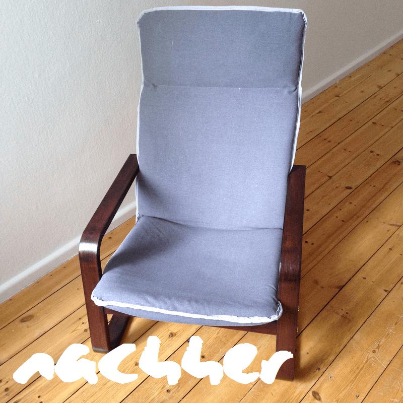 DIY Sessel nachher