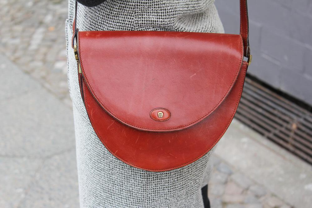 Aigner braune Vintage Tasche