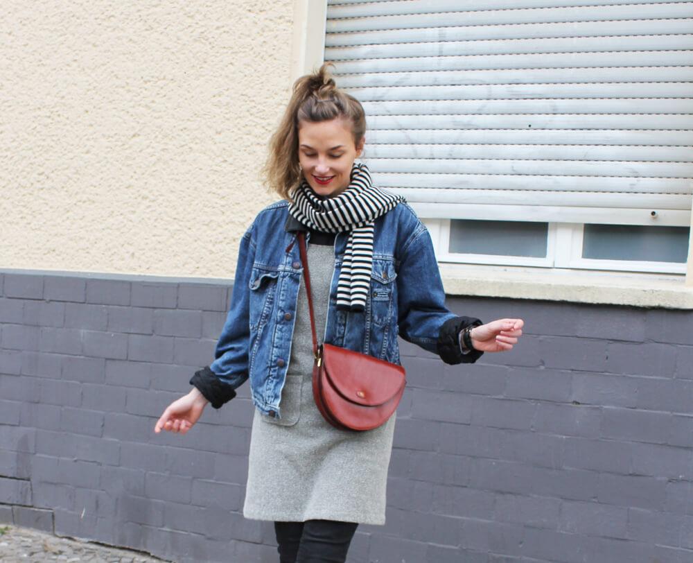 Levis Jeansjacke und Kleid