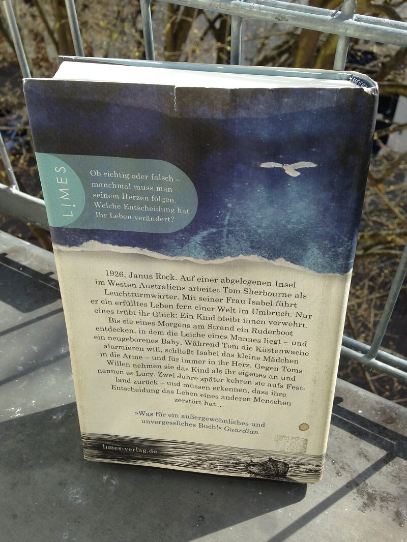 das licht zwischen den meeren roman