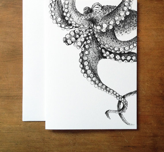Karte Octopus