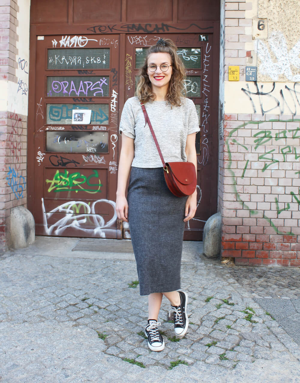Rock und Cropped Shirt