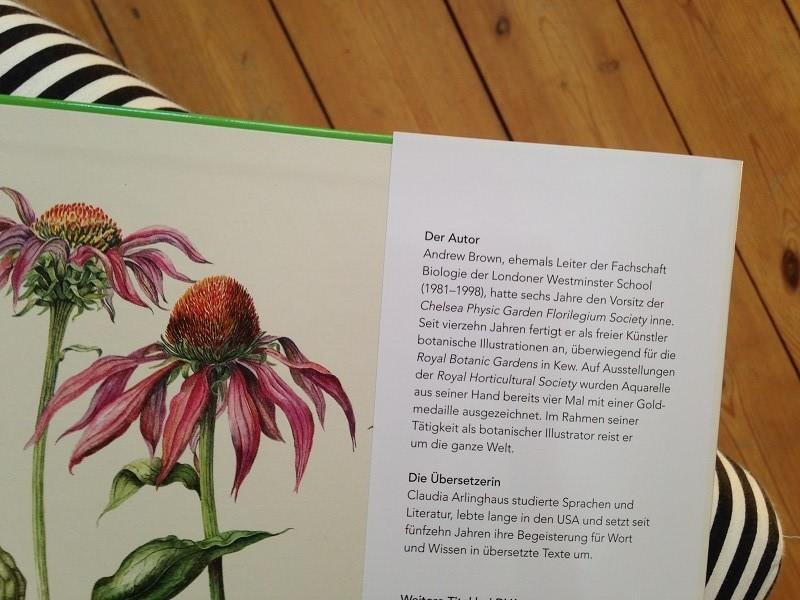 die kunst der botanischen Illustration von andrew brown