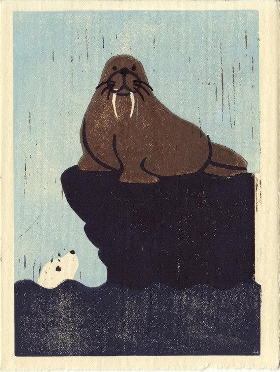 etsy walross