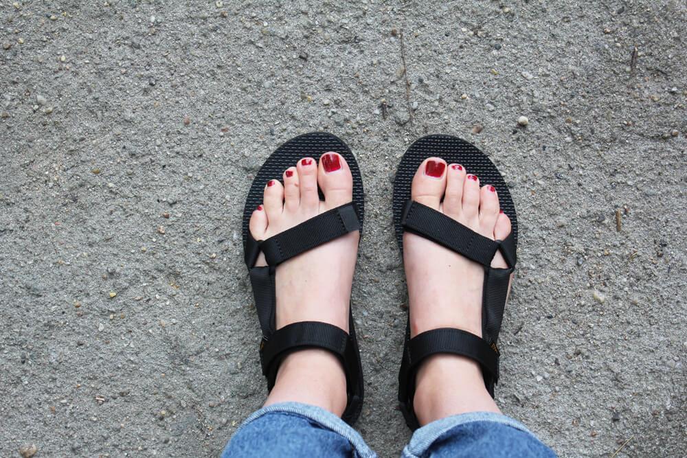 Teva Sandale Universal schwarz