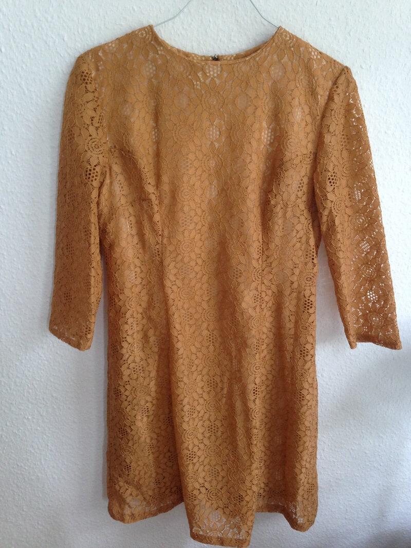 vintage kleid aus spitze