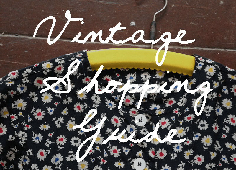 vintage Shopping Blogposts