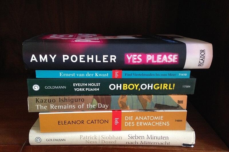 Bücher im august
