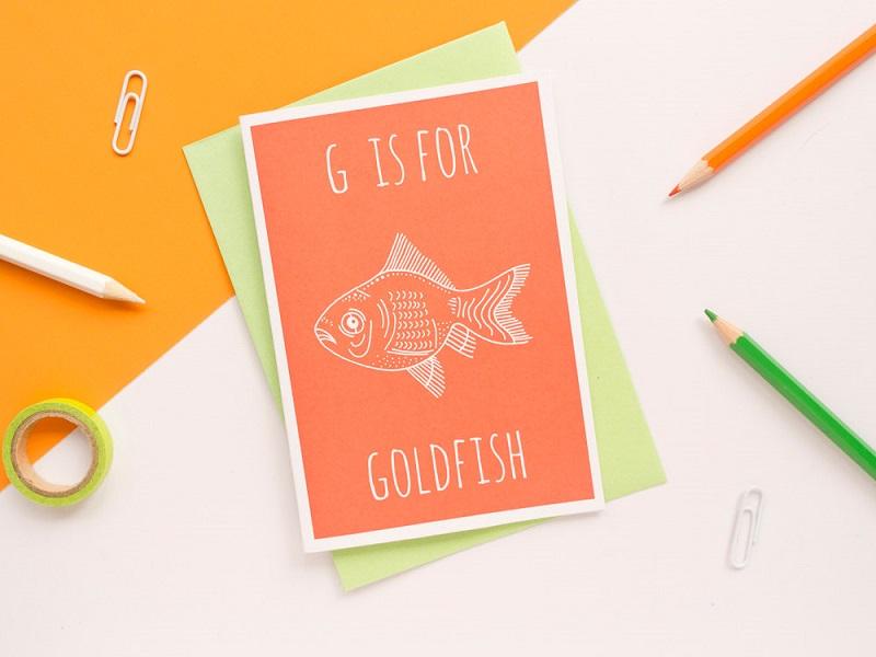 goldfisch karte