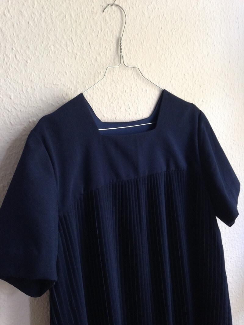 plissee-blauer herbst