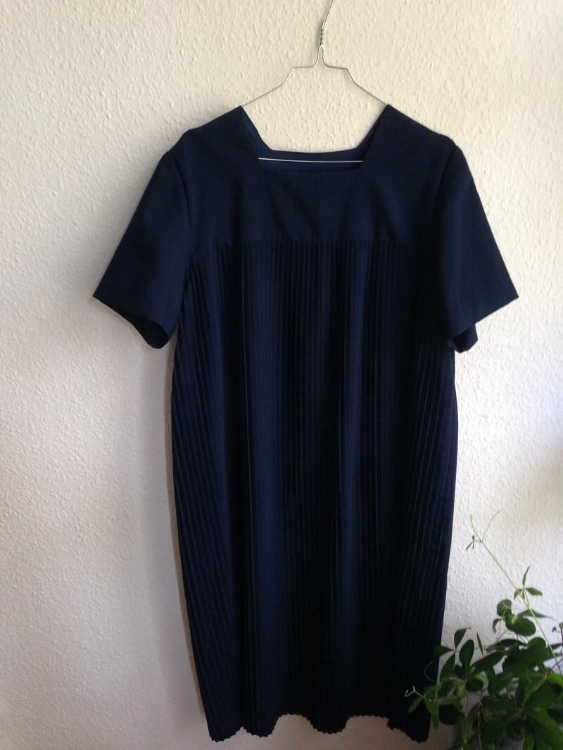 vintage-plissee-kleid
