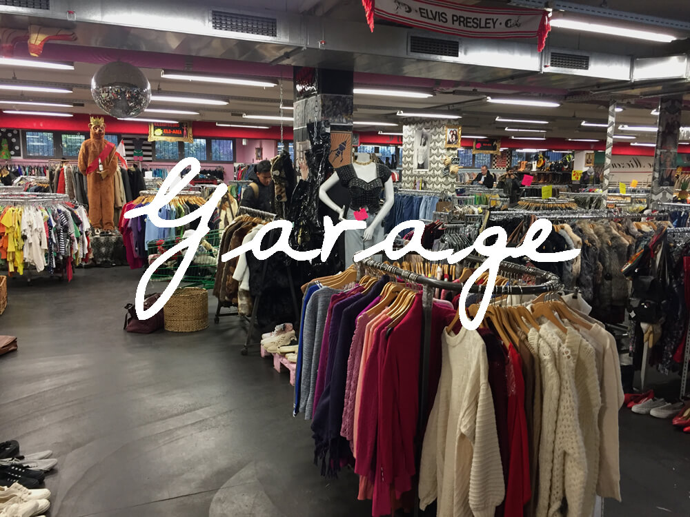 Second Hand Shopping Garage In Berlin Made Of Stil