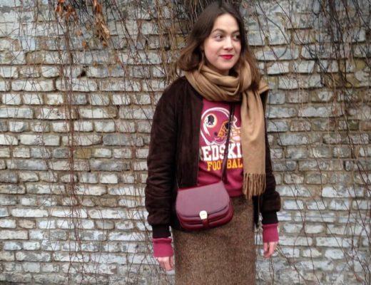 Outfit: Vans, Vintage Pulli & Ganni Bluse MADE OF STIL