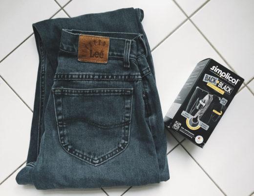 Jeans färben