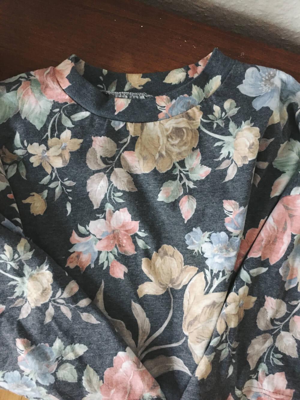 Vintage Blumenshirt
