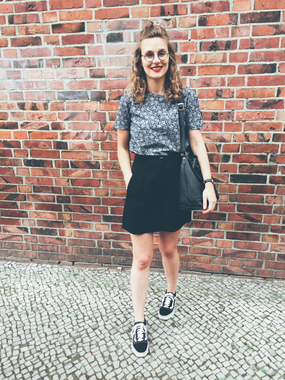 High Waist Shorts schwarz