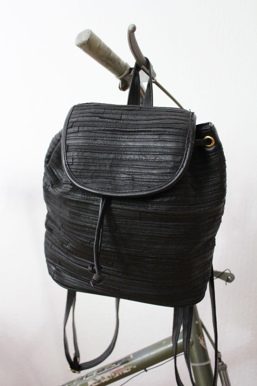 Vintage Lederrucksack