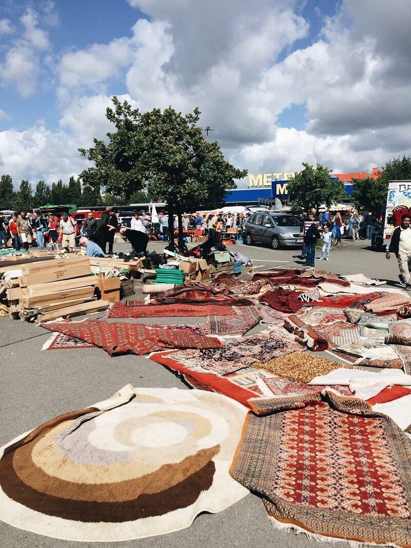 Flohmarkt berlin spandau