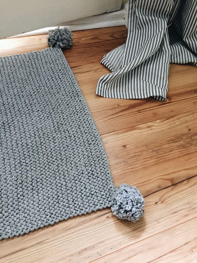 Teppich Stricken Gallery Of Matten Moderne Teppiche Stricken With