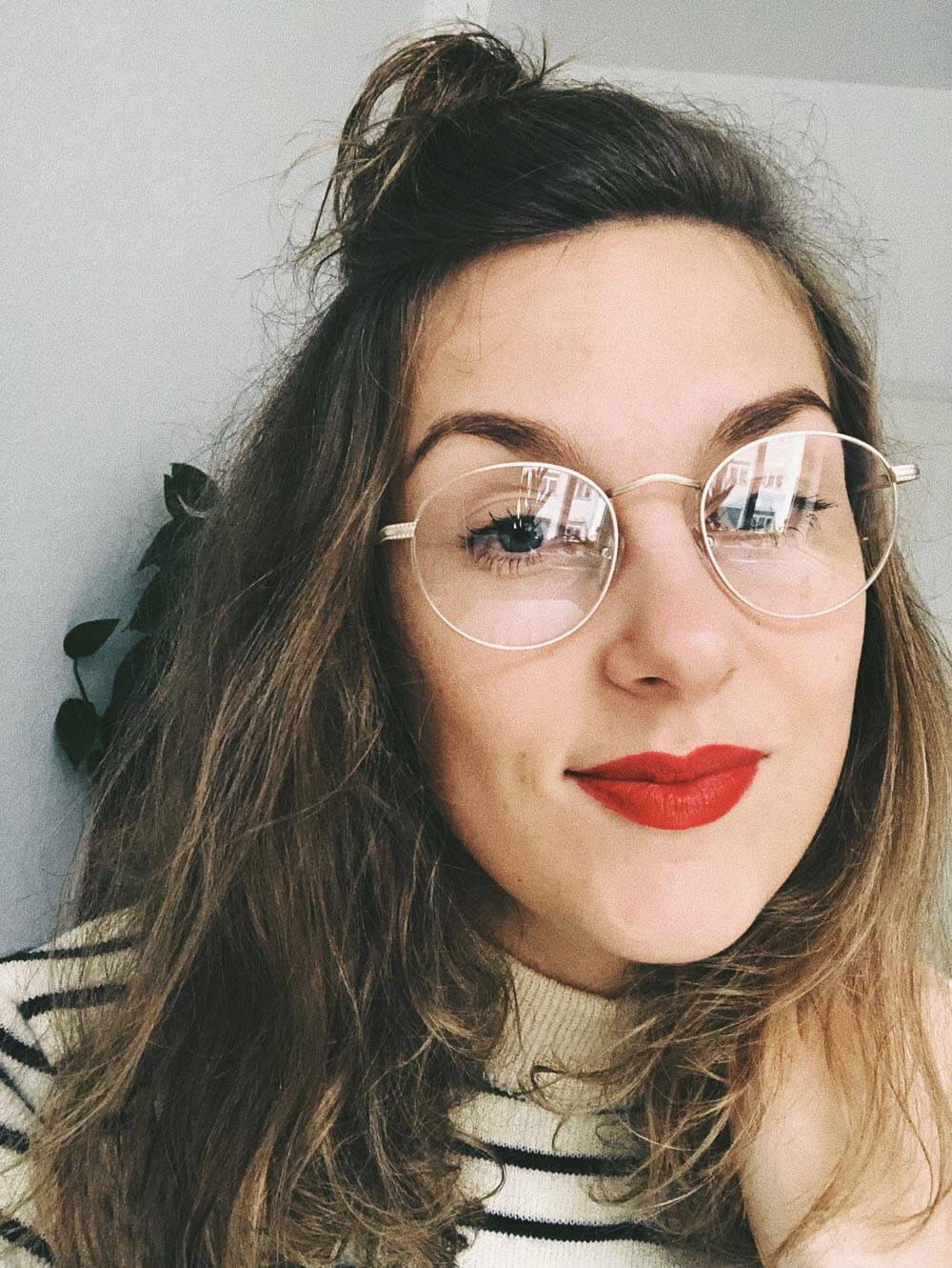 Mit Brille Ist Es Am Besten
