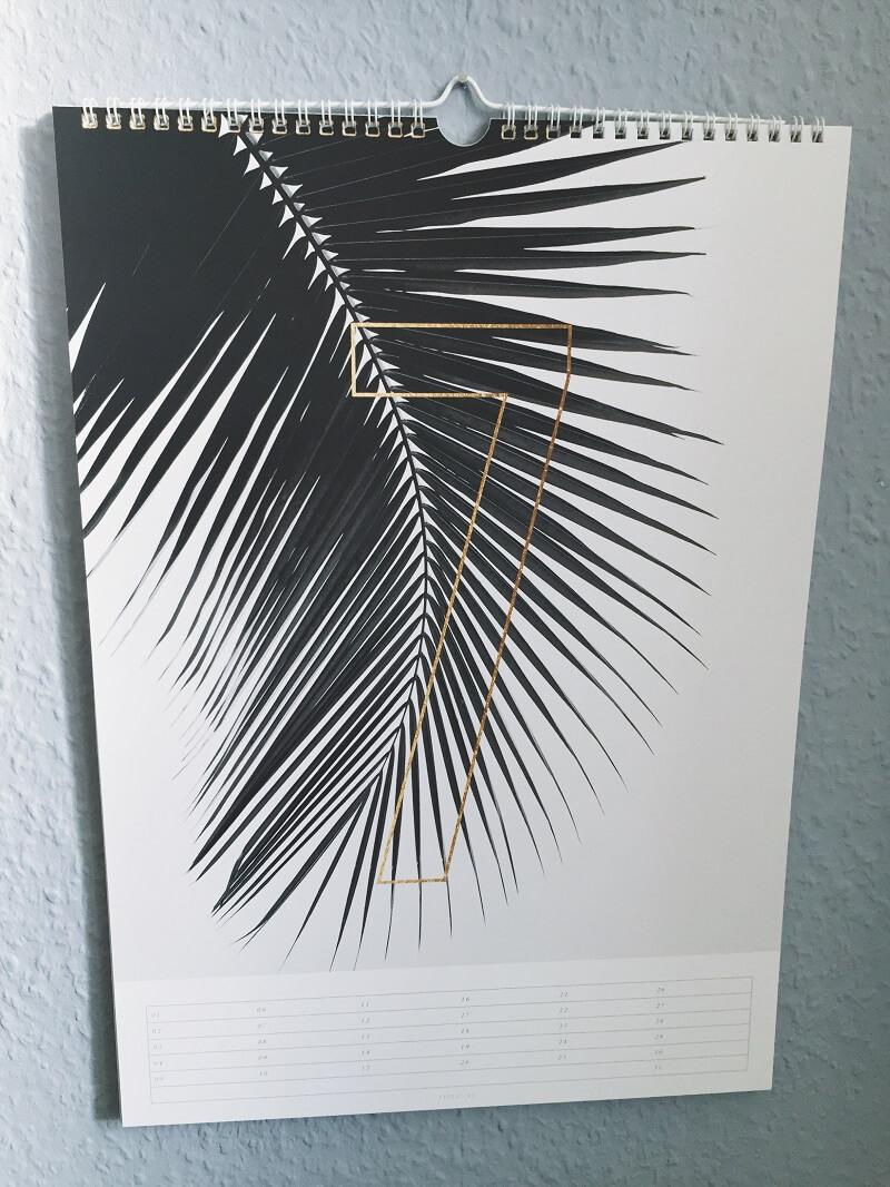 Wandkalender von Typealive
