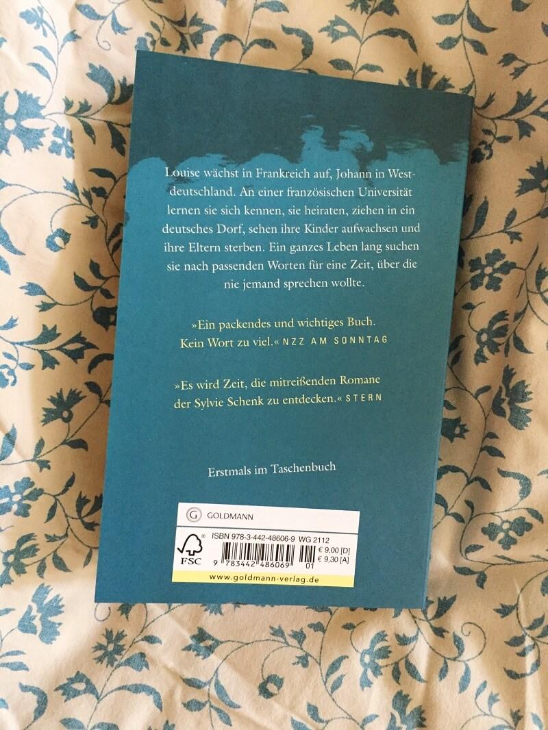 Schnell, dein Leben von Sylvie Schenk