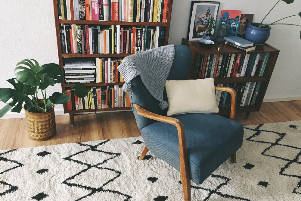 eine gem tliche leseecke einrichten mit otto home living. Black Bedroom Furniture Sets. Home Design Ideas
