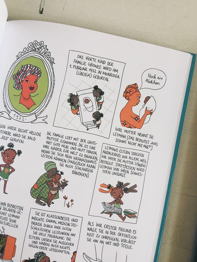 Graphic Novels mit weiblichen Hauptrollen