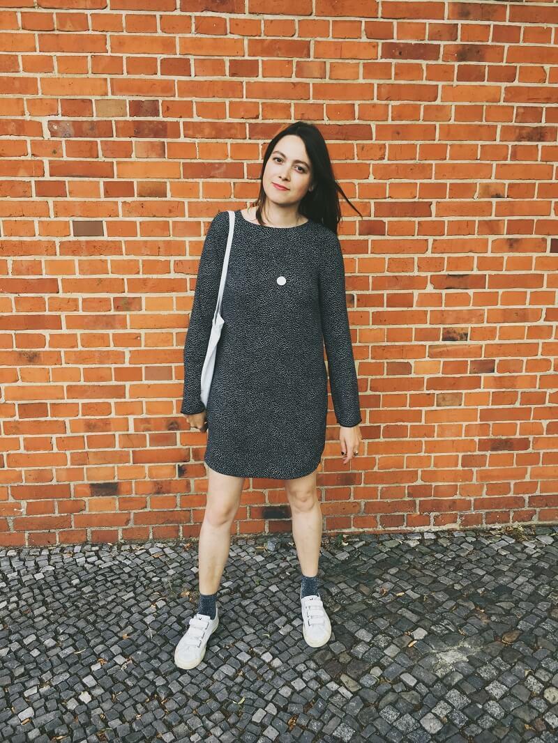 Glitzer Socken Outfit