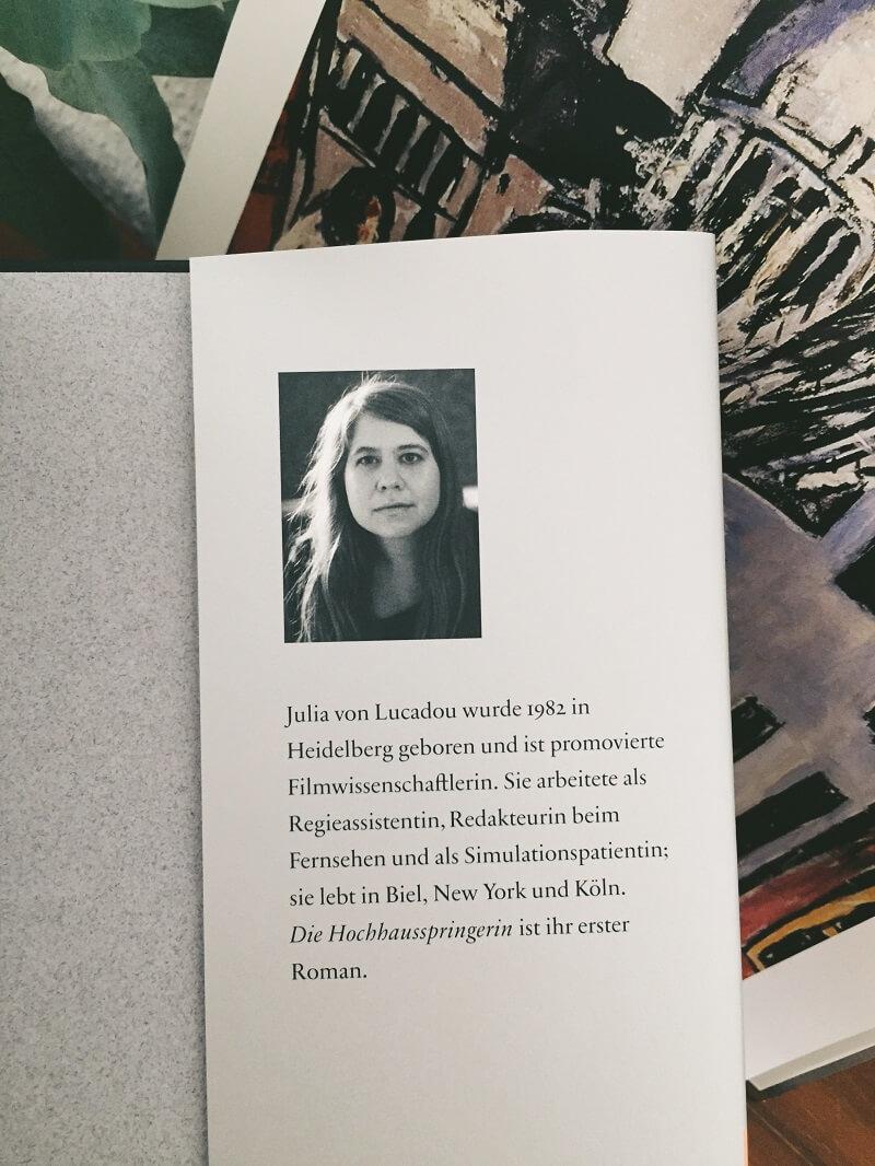 Die Hochhausspringerin von Julia von Lucadou