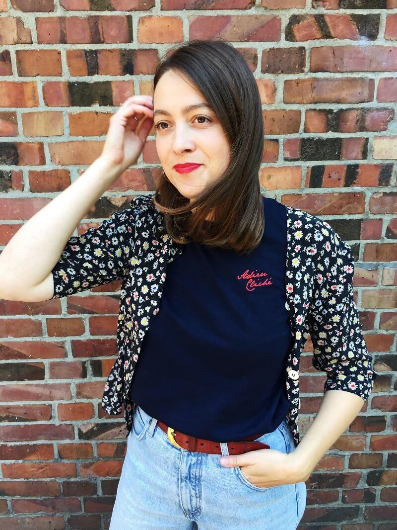 Adieu Cliché Shirt von WOMOM