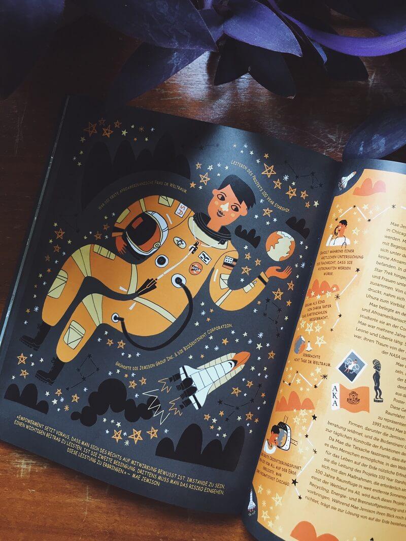 Furchtlose Frauen, die nach den Sternen greifen von Rachel Ignotofsky