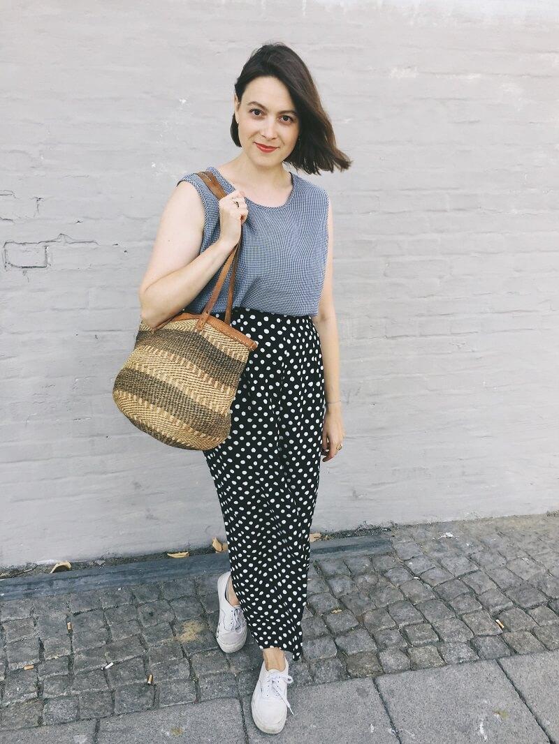 Madeofstilechter Mustermix & eine neue Tasche vom Flohmarkt