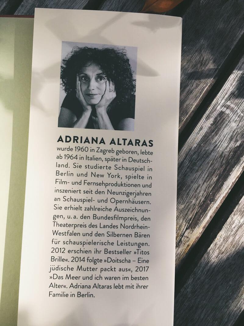 Die jüdische Souffleuse von Adriana Altaras