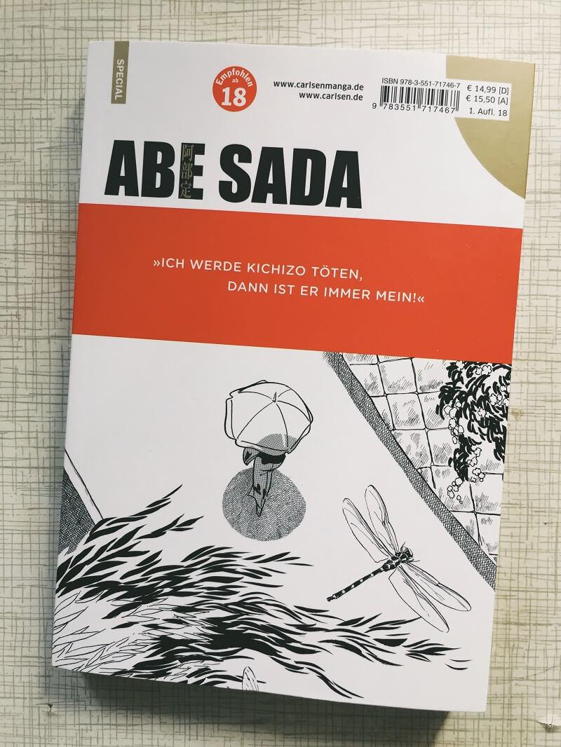 Abe Sada 1 von Kazuo Kamimura