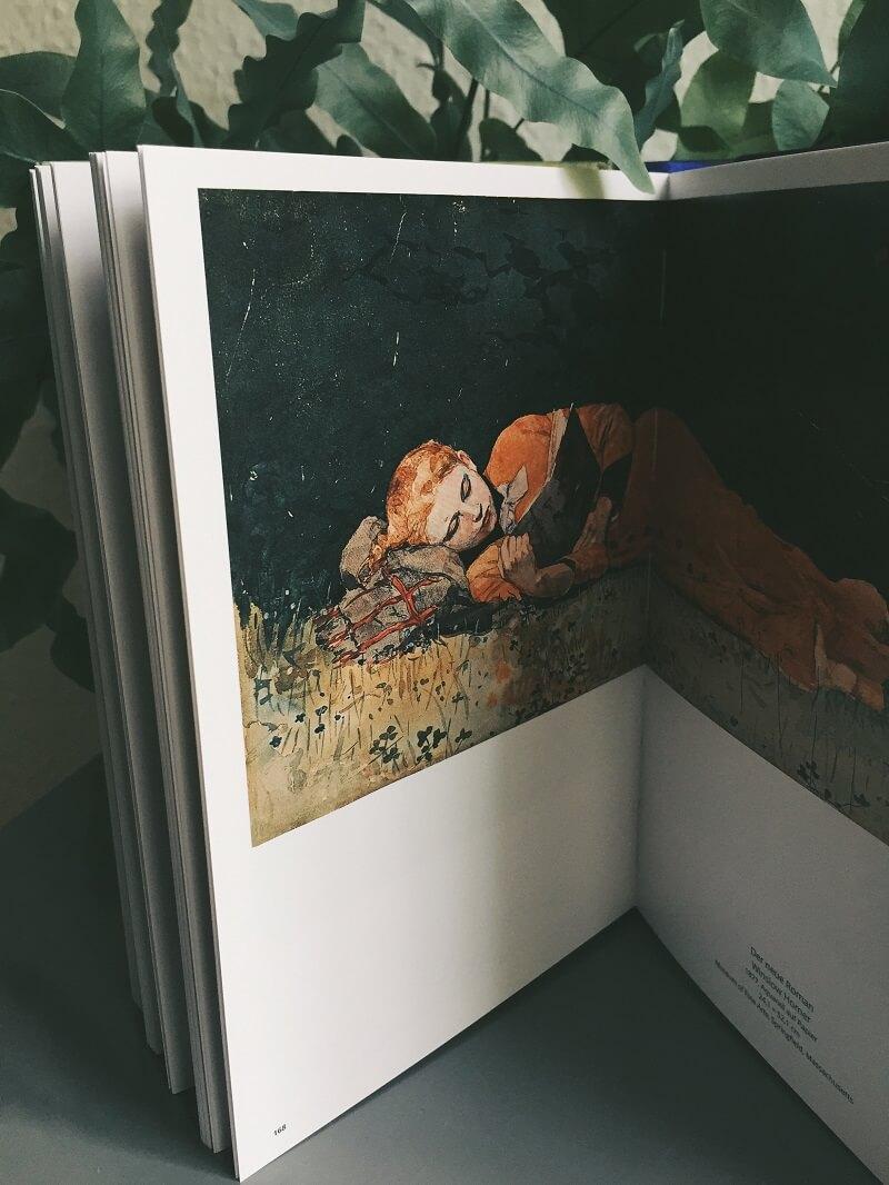 Die Kunst zu lesen von David Trigg