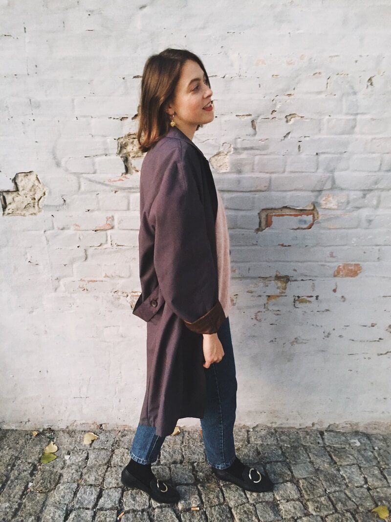 SLOW FASHION // Vintage Mantel & Lieblings Strickjacke