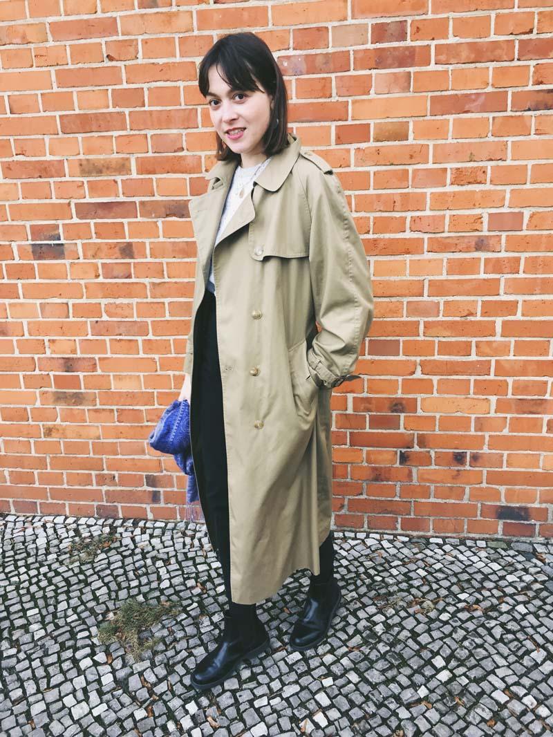 SLOW FASHION OUTFIT // Der Vintage Trenchcoat