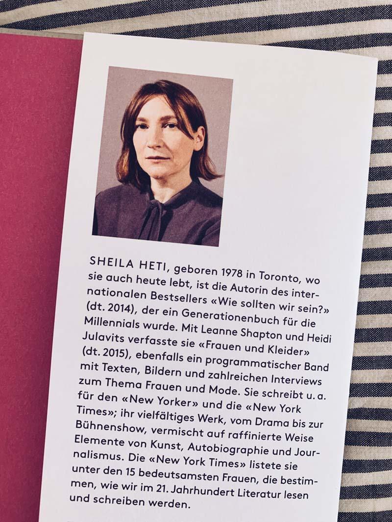 Mutterschaft von Sheila Heti