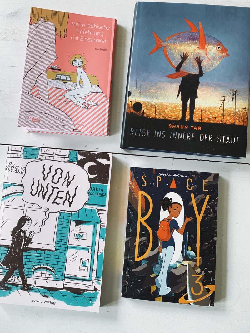 Lesemonat März: Romane, Manga & Graphic Novel - Neuerscheinungen