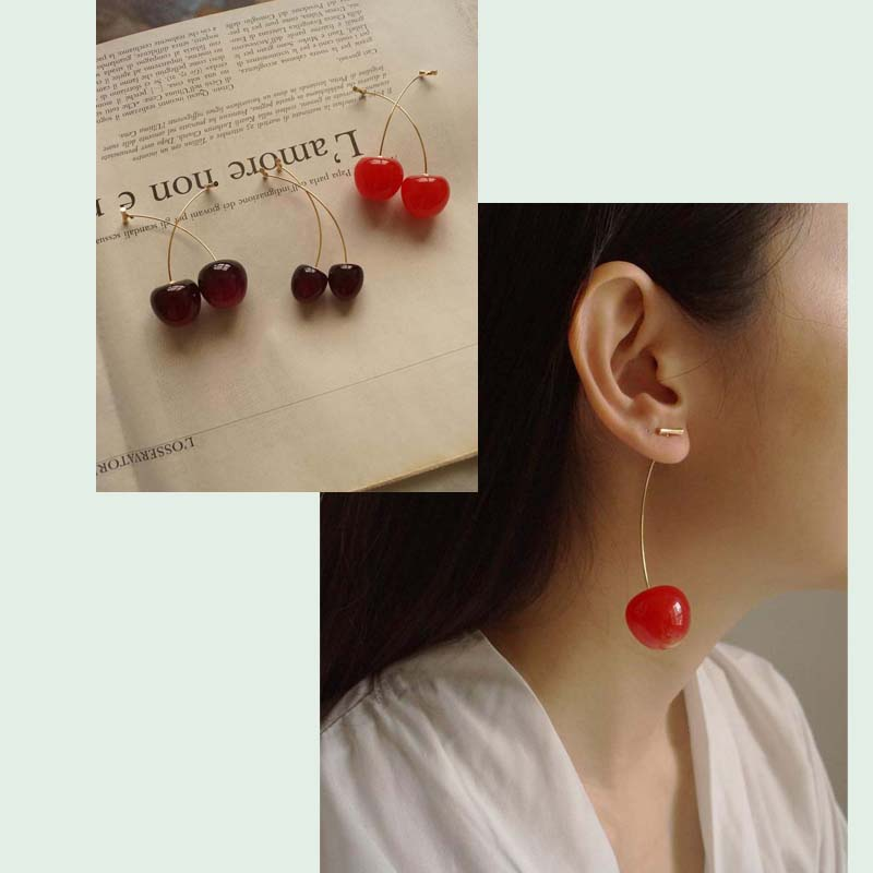 Cher (Cherry) Earrings von Gabi The Label