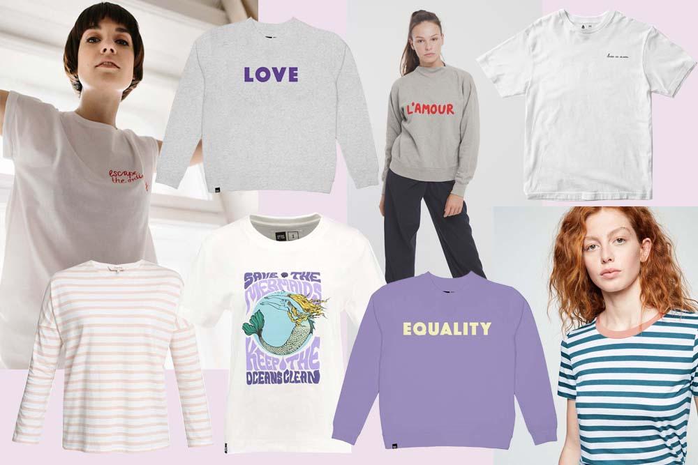 FAIR FASHION // Farbenfrohe & Aussagekräftige Shirts für den Frühling