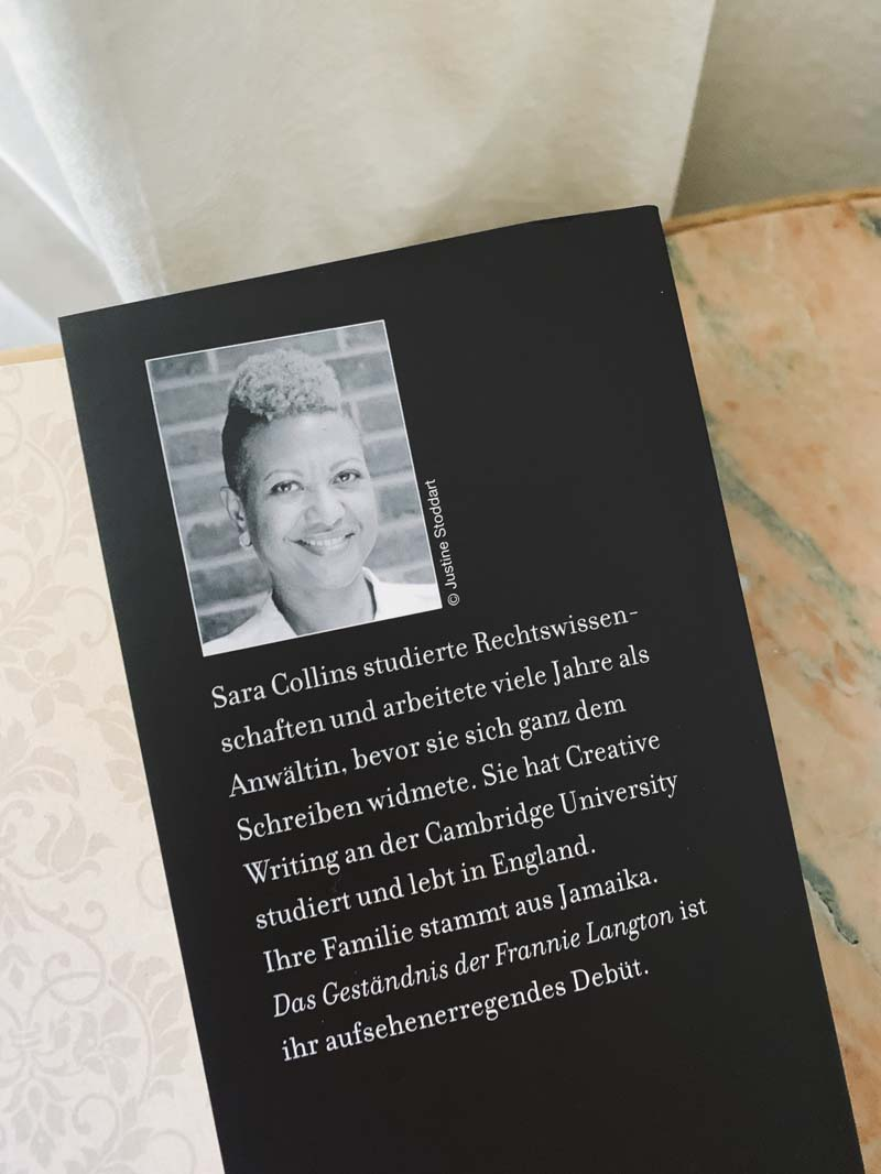 Das Geständnis der Frannie Langton von Sarah Collins