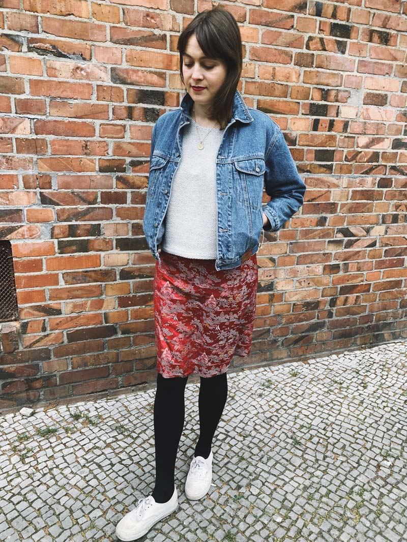 SLOW FASHION OUTFIT // Vintage Rock & Basics