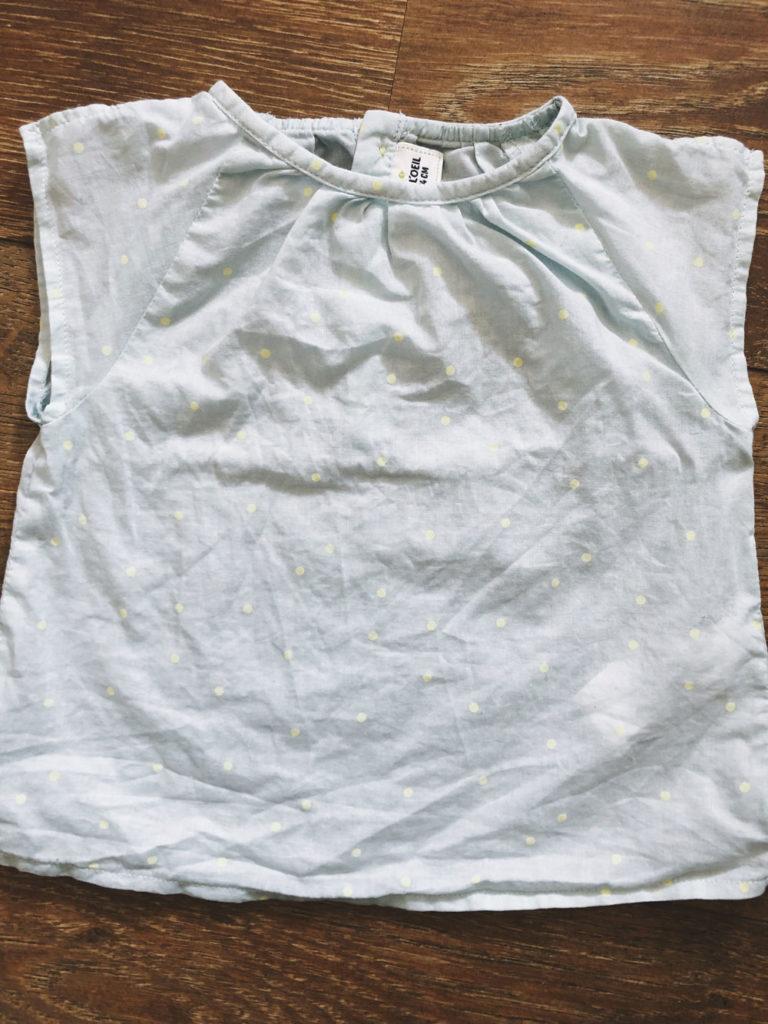 Sommer Shirt mit Punkten