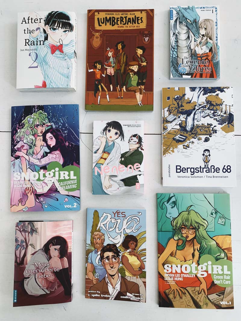 READING WRAP UP // Lesemonat Juni - Comics, Manga & Romane
