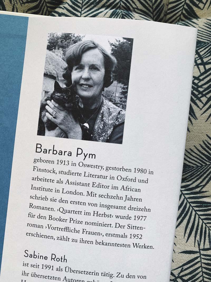 Vortreffliche Frauen von Barbara Pym