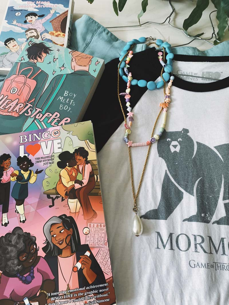 Farbenfrohe Favoriten: Comic, Manga & textile Lieblinge