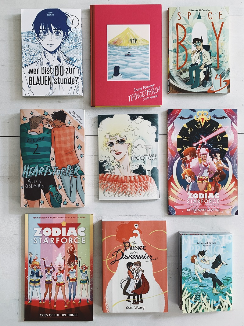 READING WRAP UP // Lesemonat Juli - Comic, Manga & Romane