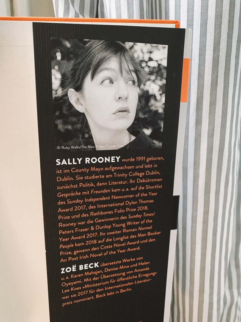 Gespräche mit Freunden von Sally Rooney